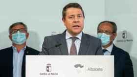 Emiliano García-Page, este viernes en Albacete