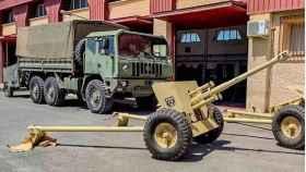 Cañones contracarros de la Legión (Foto: Defensa.com)