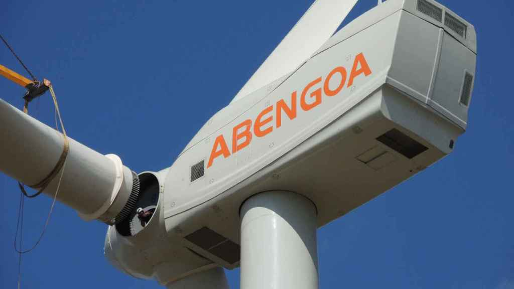 Aerogenerador de Abengoa.