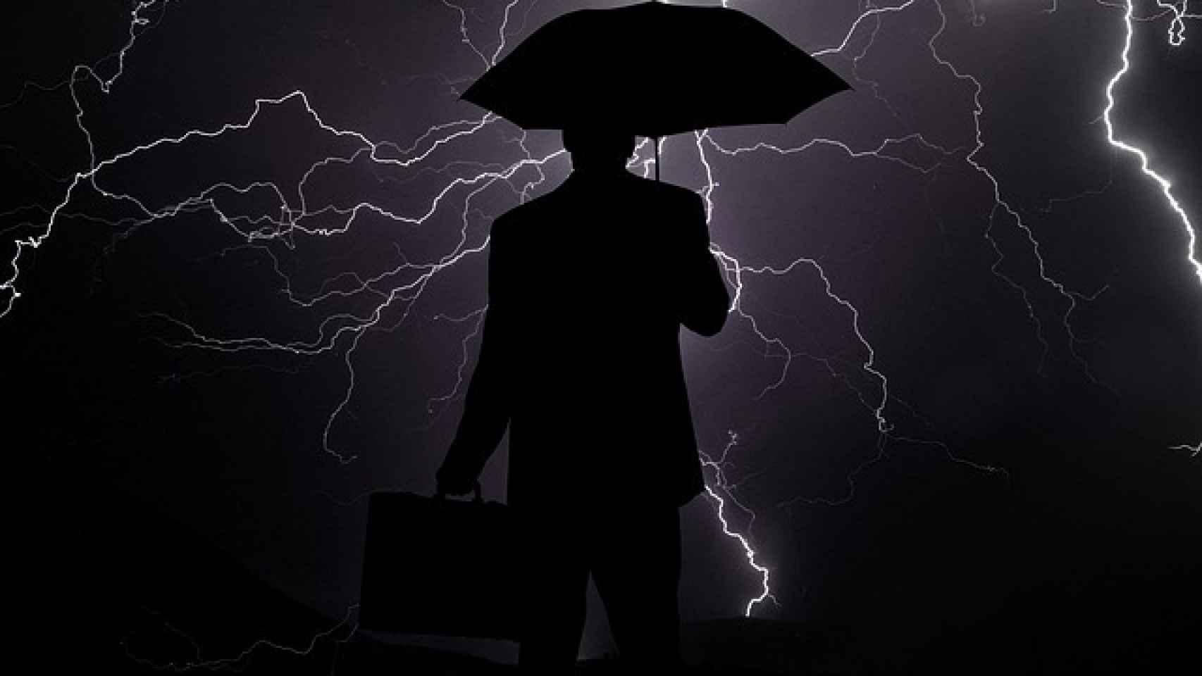 Imagen referencial sobre tormenta.
