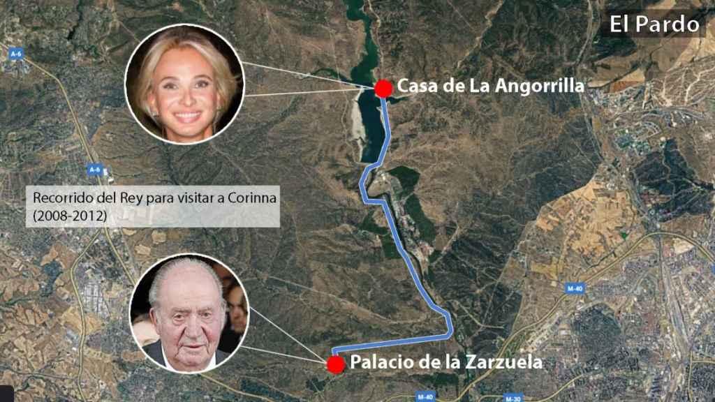 La Angorrilla, el hogar paralelo que Juan Carlos montó con Corinna junto a Zarzuela: amor y negocios