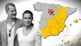 Felipe y Letizia han visitado ya ocho comunidades autónomas.