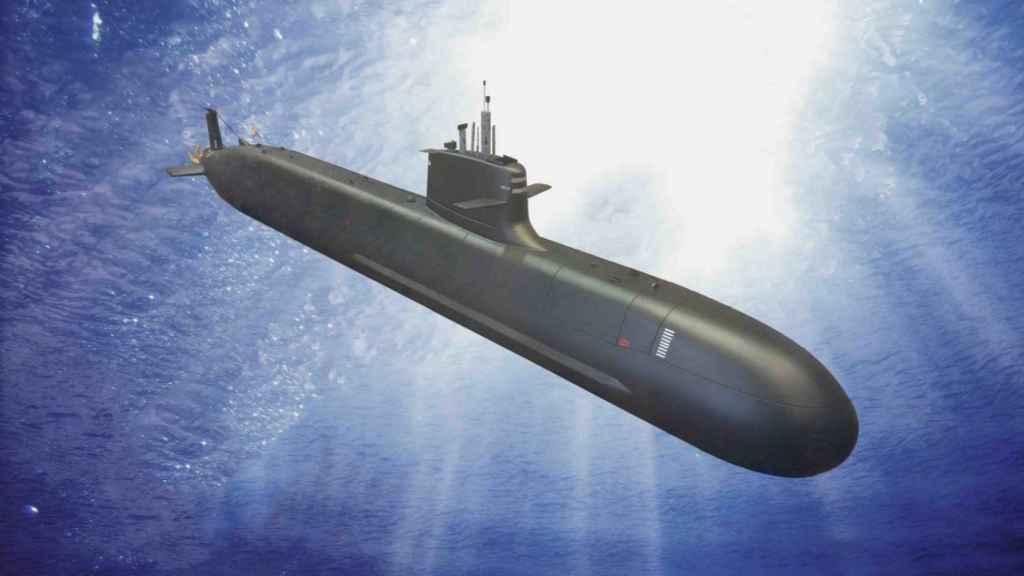 Diseño del submarino S-80.