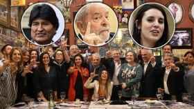 Irene Montero entra en secreto en el Grupo de Puebla, con Evo Morales y Lula, para adaptar la revolución