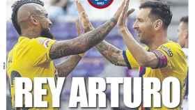 La portada del diario Mundo Deportivo (12/07/2020)
