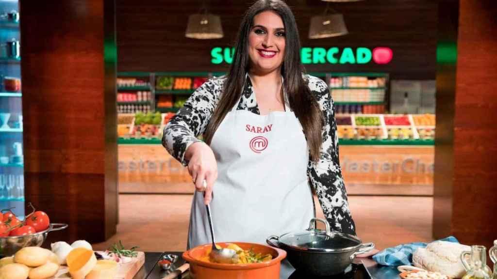 Saray Carrillo en una imagen promocional de 'MasterChef'.
