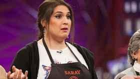 Saray durante el programa 'MasterChef'.