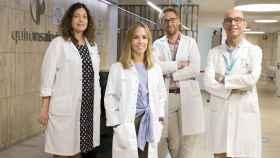 De izquierda a derecha, los doctores María Cortés, Alicia Vicuña, Joaquín Gómez y Juan Carlos Meneu.