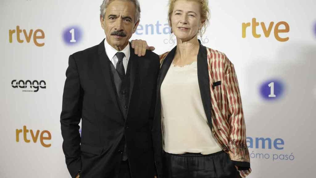 Los actores Ana Duato e Imanol Arias se enfrentan al tramo más complicado del caso Nummaria.
