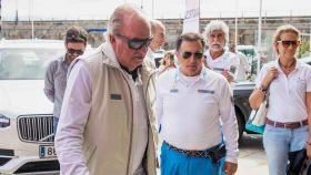 Juan Carlos ha estado cinco días en Sanxenxo con Pedro Campos, sobrino del expresidente Calvo Sotelo.
