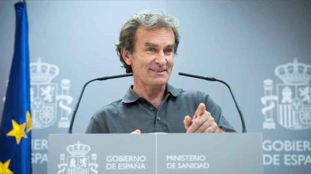 Fernando Simón, en rueda de prensa por la crisis del coronavirus