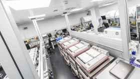 Uno de los laboratorios del IVI para la medicina reproductiva y la embriología.