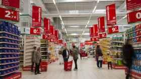 Uno de los supermercados de Alcampo