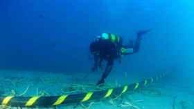 REE pone en servicio el nuevo cable eléctrico submarino que conecta Menorca con Mallorca