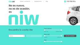 Captura de la 'home' de Niw.es.