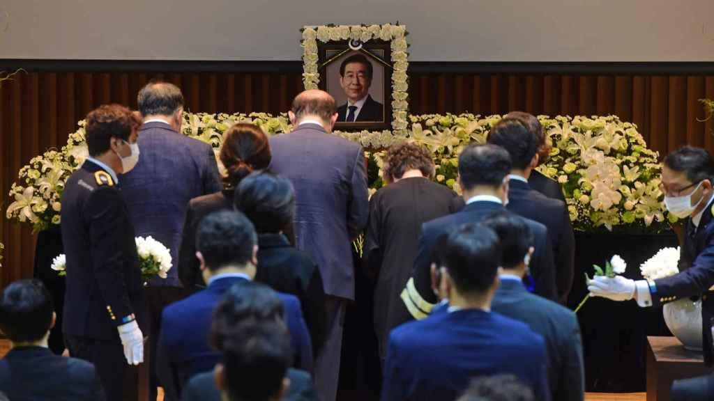 Funeral del alcalde de Seúl, Park Won-soon.