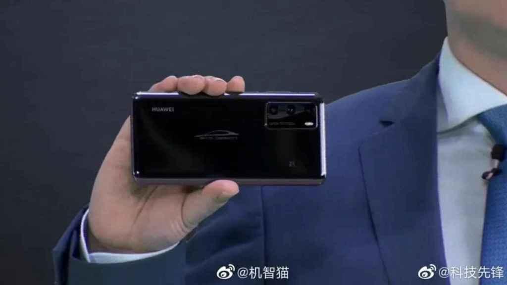 La nueva versión del Huaweo P40, especial para el coche eléctrico BYD Han