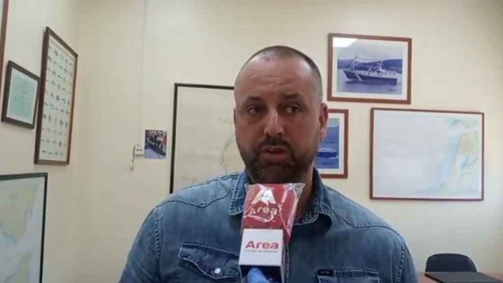 En la imagen, el armador del 'Rúa Mar' detenido, Pedro Maza hijo