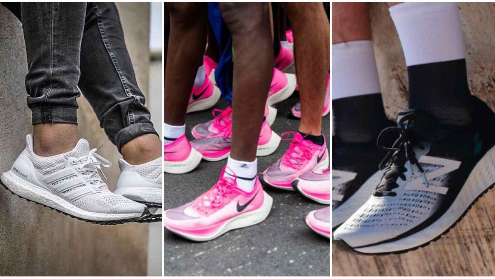 Nike y Adidas triunfan entre las zapatillas de 'running' más demandadas del mercado.