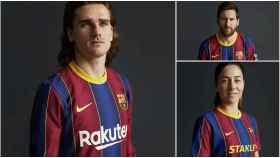 El Barça presenta su nueva equipación para la temporada 2020/2021