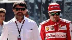 Luis García Abad y Fernando Alonso (Foto: Ciclo 21)