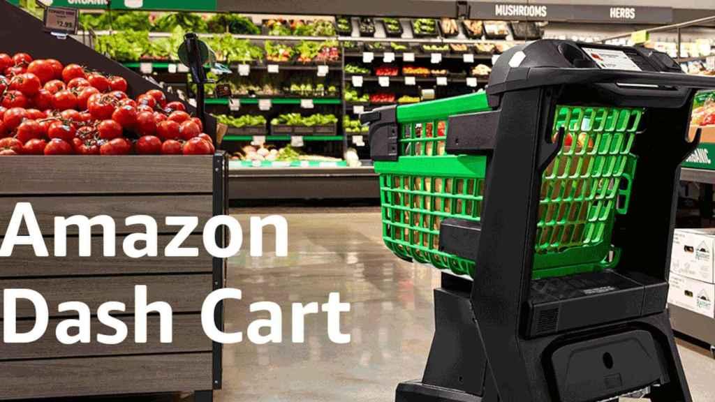 Amazon usará su carro de la compra inteligente primero en sus tiendas