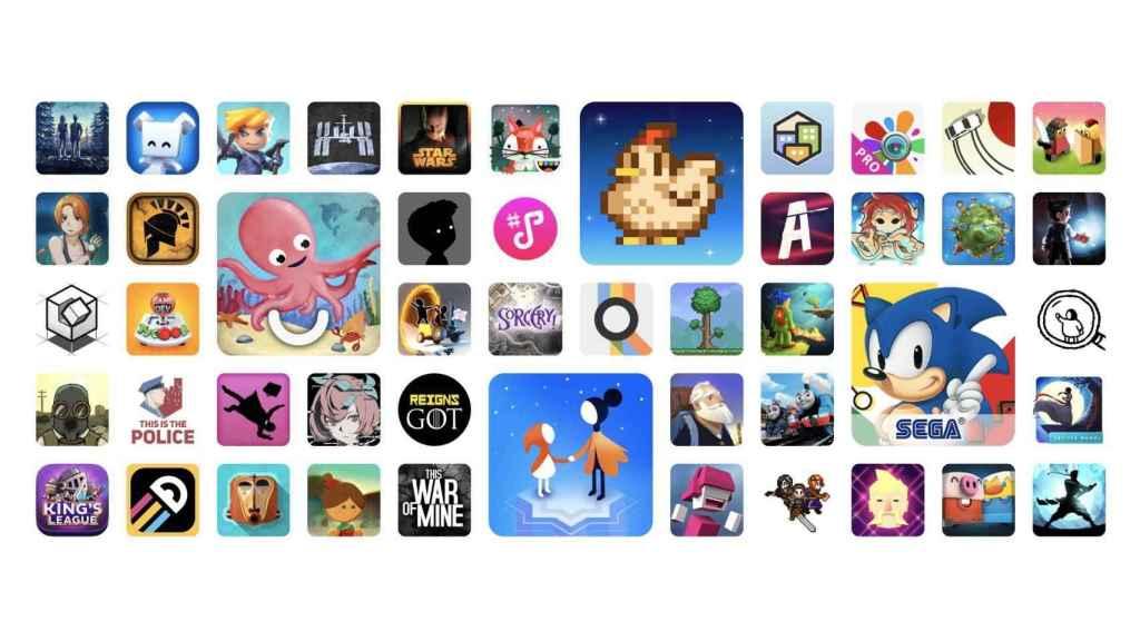 Apps de Play Pass