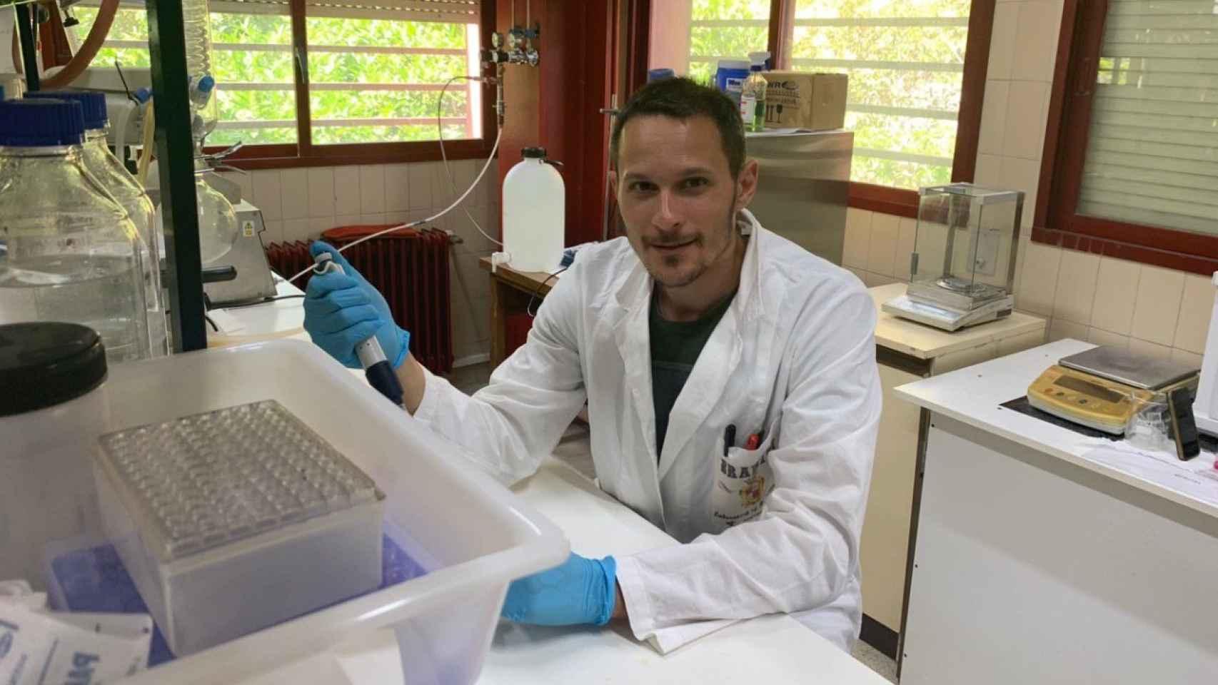 Mattia Bramini, científico de la Universidad de Granada