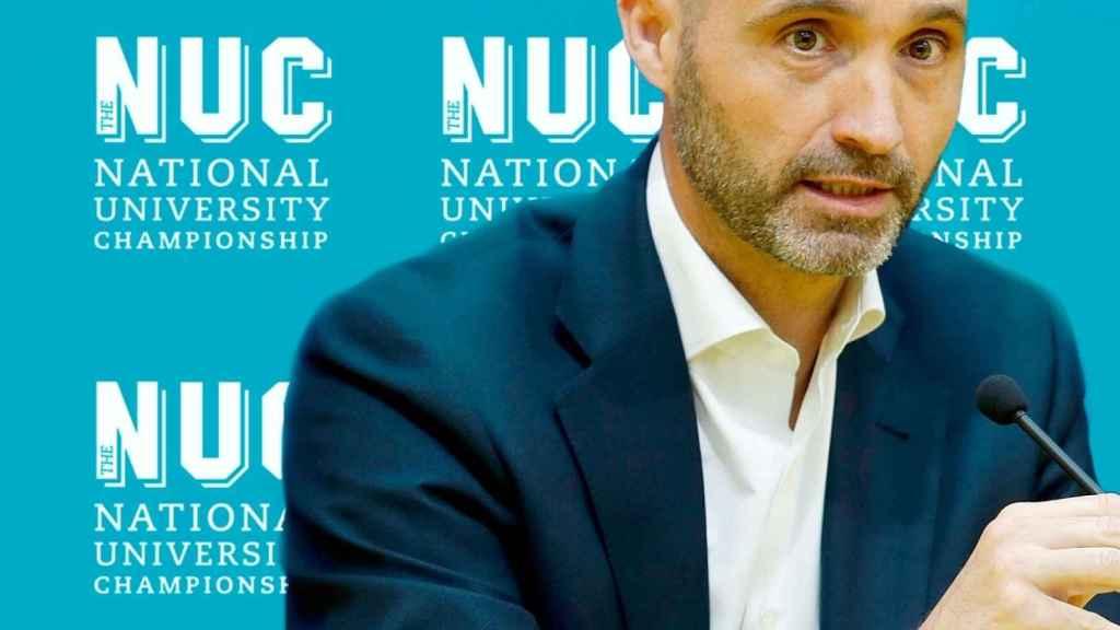 Nacho Legido, líder de The NUC