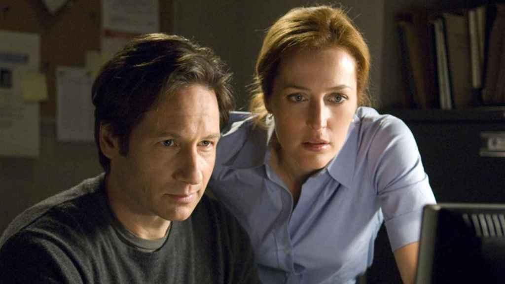 Mulder y Scully en 'Expediente X'