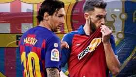 Leo Messi y Roberto Torres