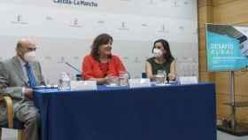 Rafael Torres, Patricia Franco y Carla Avilés