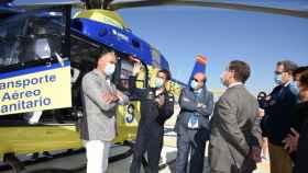 Page ha inaugurado este miércoles el helipuerto de Tarancón