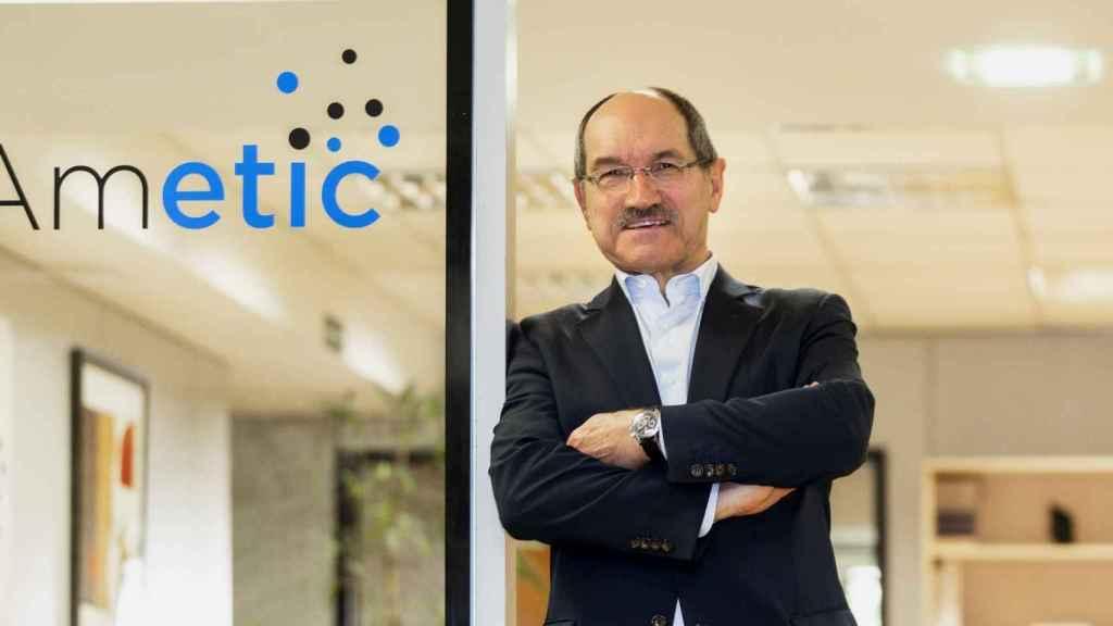 Pedro Mier, presidente de la patronal Ametic