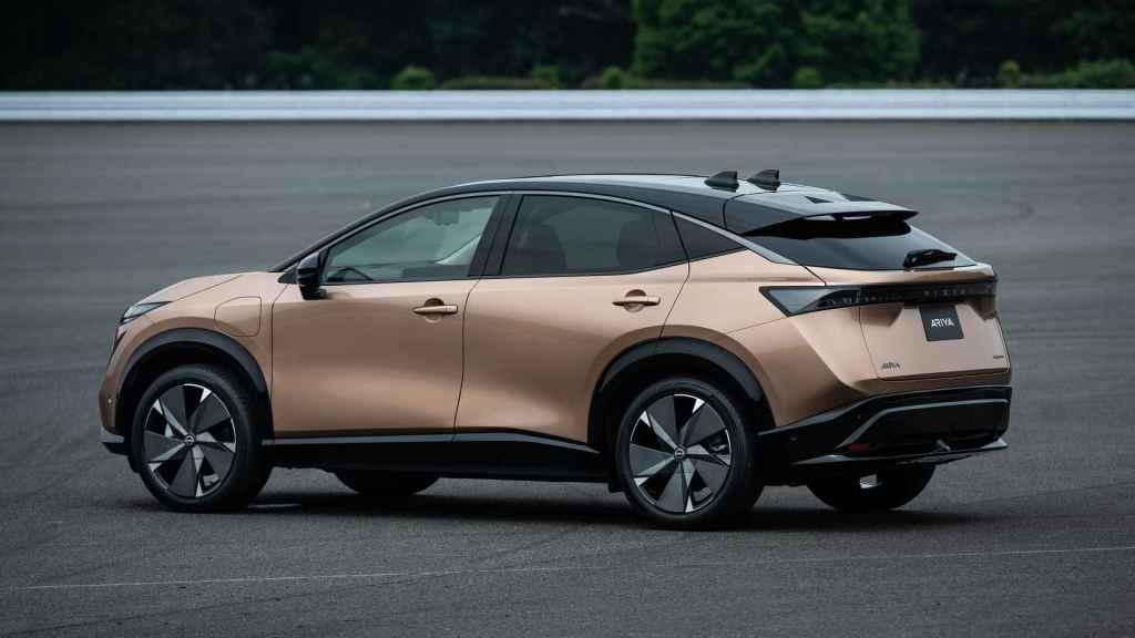 El nuevo Nissan Ariya es un SUV eléctrico que se venderá en España.