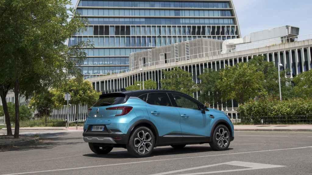 Renault Captur e-Tech.