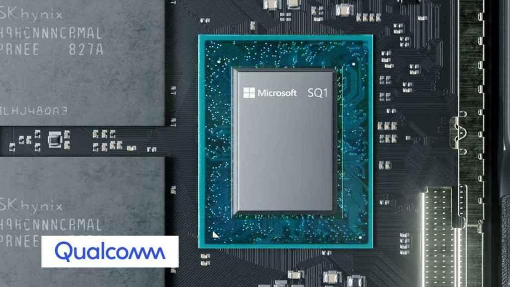 El chip SQ1 de Microsoft es el 'cerebro' de la Surface Pro X