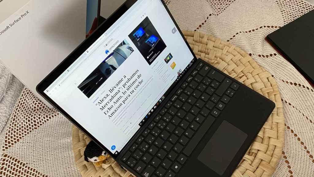 Surface Pro X, este es el futuro de los ordenadores portátiles