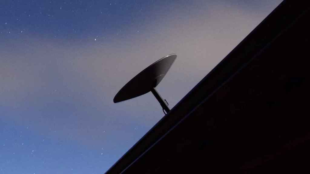 La antena de Starlink