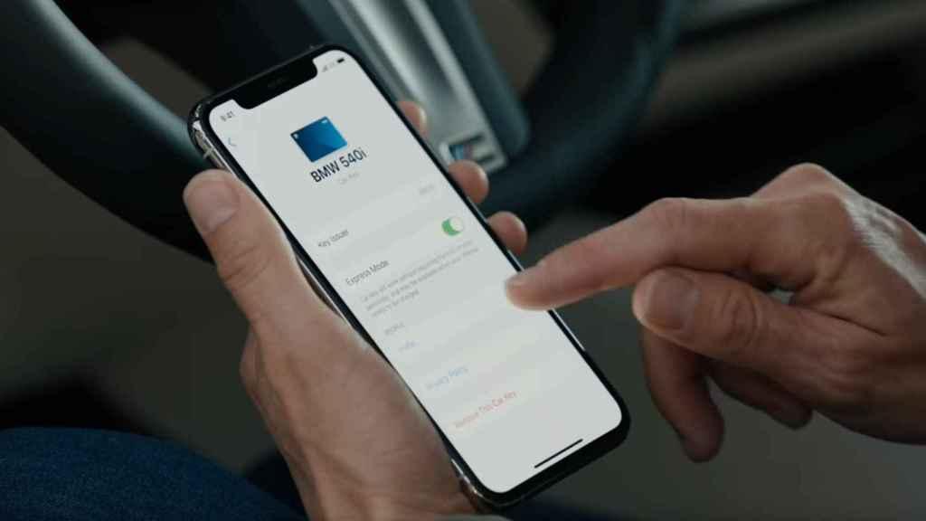 Llave virtual en el iPhone