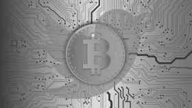 Simbolo del Bitcoin.