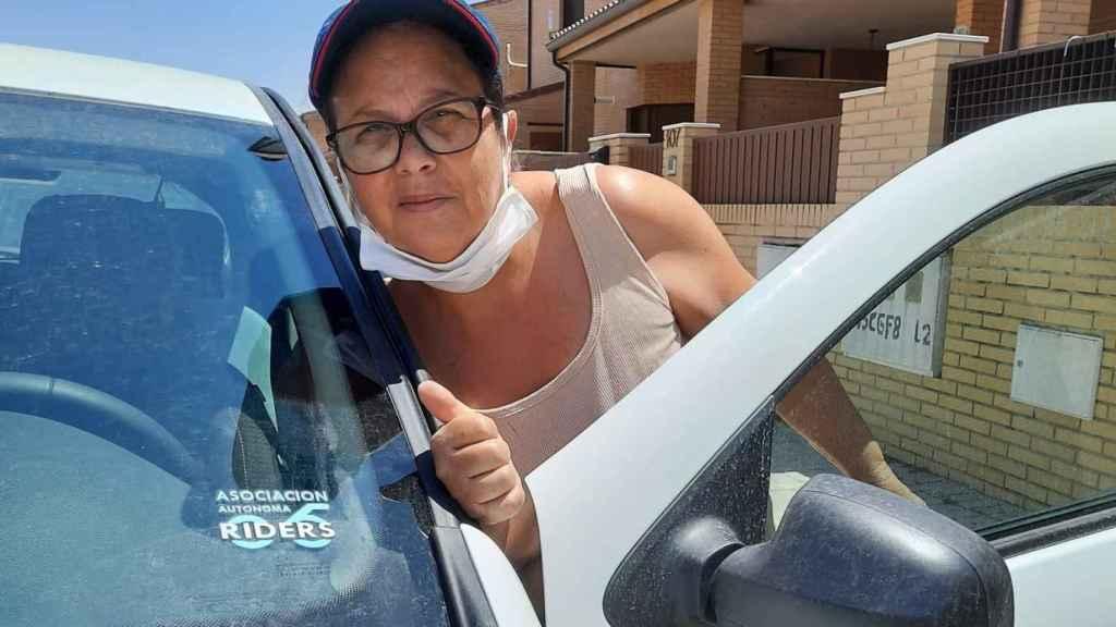 Asunción Montoya, la 'rider' de 56 años