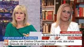 Cristina Cifuentes en '120 minutos' (Telemadrid)