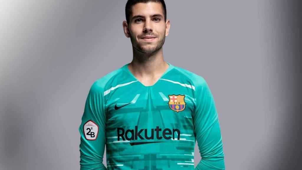 Sergi Puig, portero del Barcelona B
