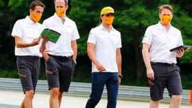 El equipo de Carlos Sainz reconoce el GP de Hungría