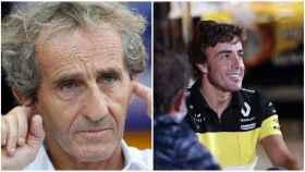 Alain Prost y Fernando Alonso