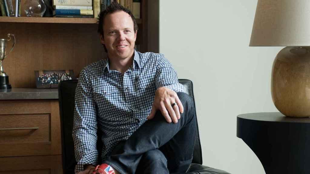 Ryan Smith, fundador y CEO de Qualtrics