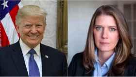 Donald y Mary Trump.