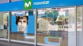 Una tienda Movistar.