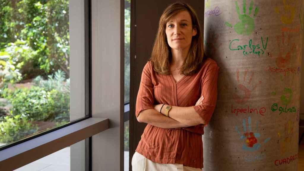 La country manager de Alexa, Marie Mulot, en la sede de Amazon.